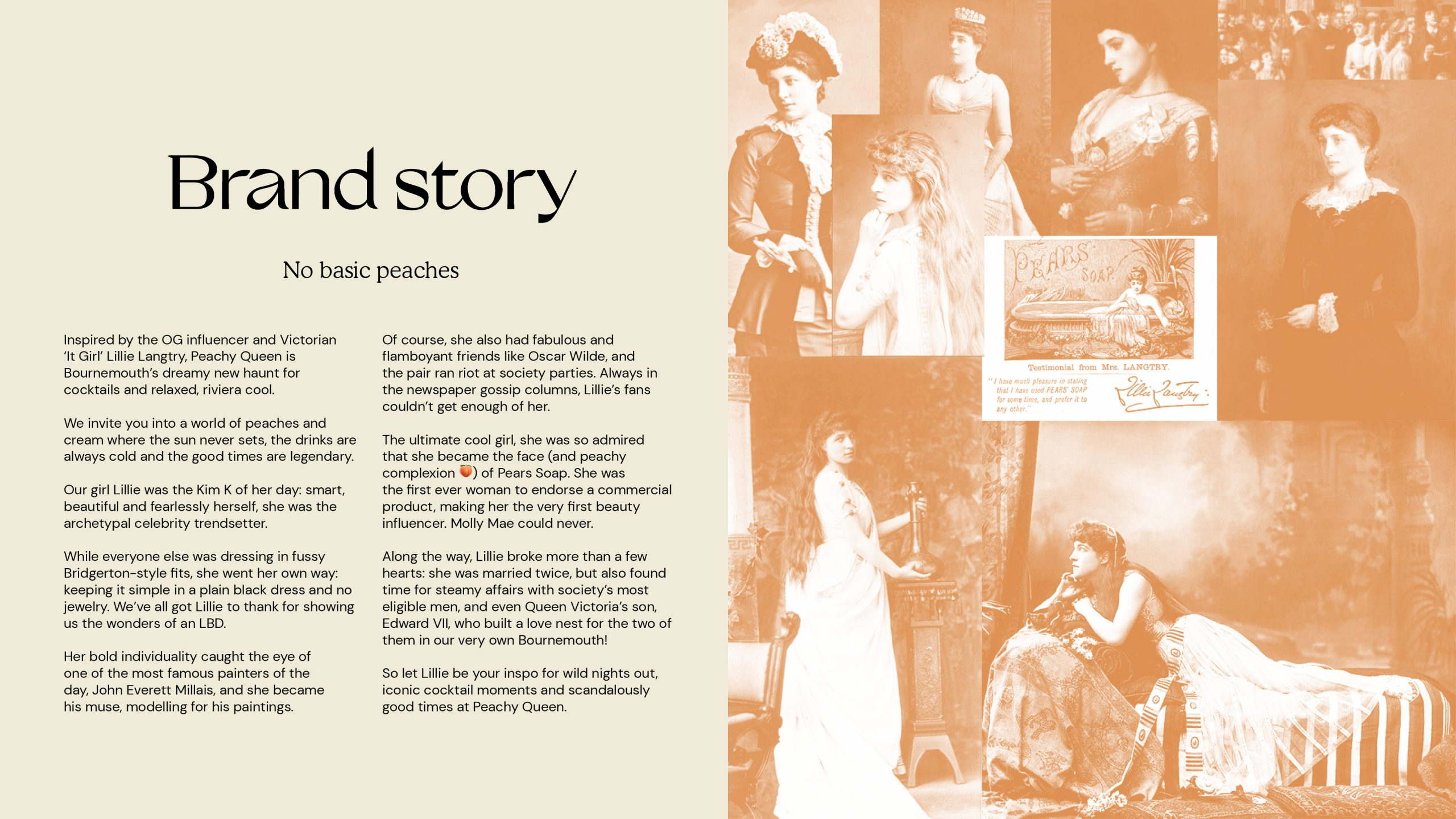 Peachy Queen Brand Story